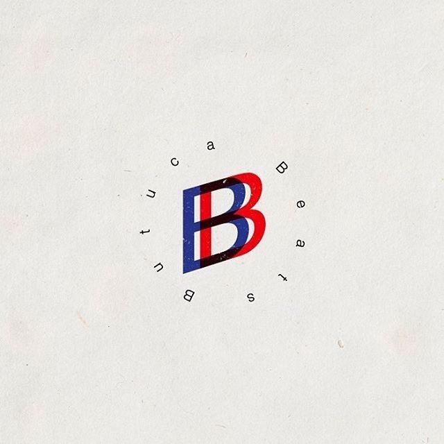 soundcloud.com/butucabeats #brand #logo #butucabeats #bluered #design #dust #noise #hiphop #rap