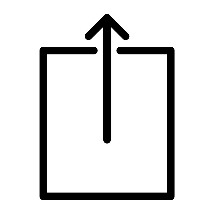 See more icon inspiration related to square, up arrow, uploading, interface and multimedia option on Flaticon.