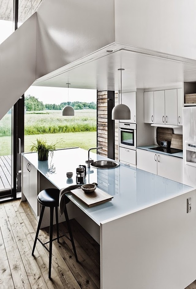 summerhouse-denmark- #interior #design #decor #architecture #deco #decoration