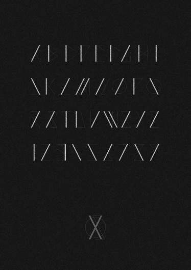 Saxon Typeface - - sam chirnside - #type #font