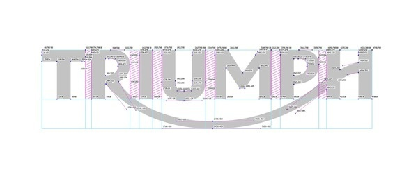New Logo for Triumph Motorcycles by Wolff Olins #logo #guides