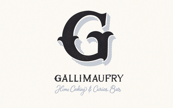 The Gallimaufry on Behance #font #word #letter #typeface #type #typography