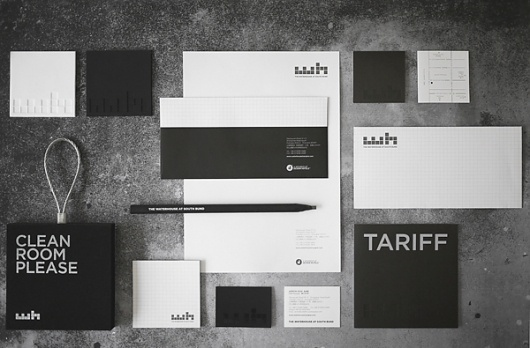 The Waterhouse at South Bund on Branding Served #stationary #identity #branding