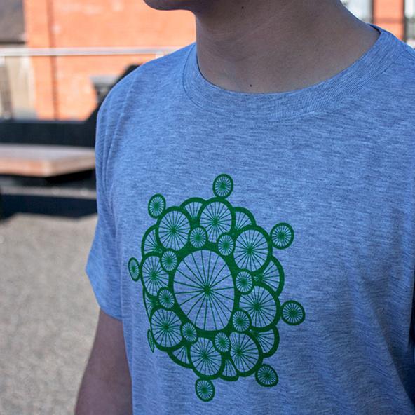 Bike T-shirt Design #fashion #illustration #design #tshirt
