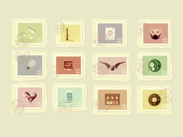 Collectibles : : 2013 Illustration Projects #color
