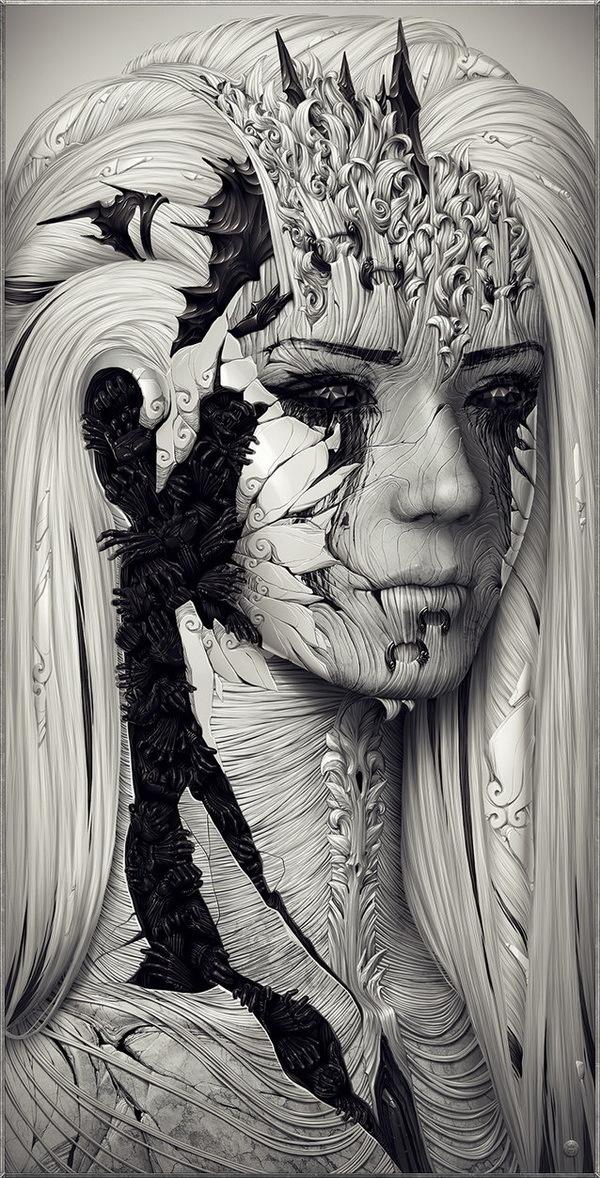Illustrations by Alexander Fedosov #alexander #illustrations #fedosov