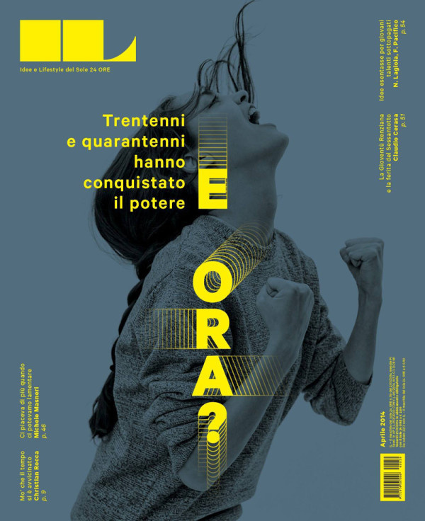 IL2014abril #sole #cover #il #layout #editorial #magazine #typography