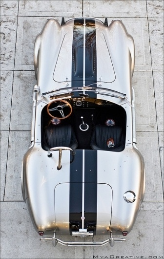 All Things Stylish | Shelby 427 Cobra (by Jeremy Cliff) #427 #refurbished #black #rides #vintage #custom #chrome #shelby #cobra