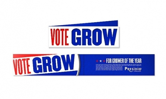 Presidio: Vote Grow Campaign Brochure   Flickr - Photo Sharing! #design #advertising #art #layout #agriculture