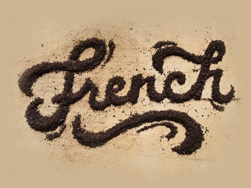 French Press by Danielle Evans #design #graphic #quality #typography