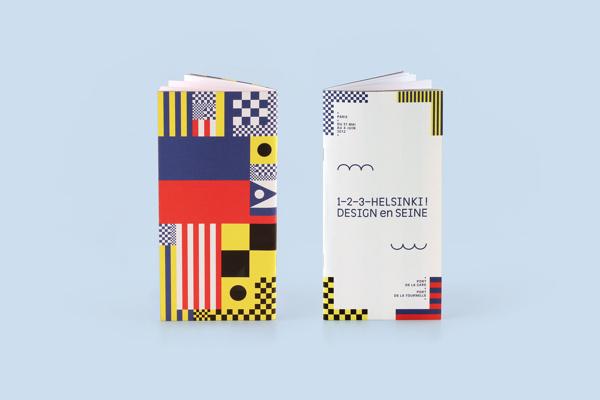 1–2–3–Helsinki ! Design en Seine on Behance #brochure #vector #pattern #geometric