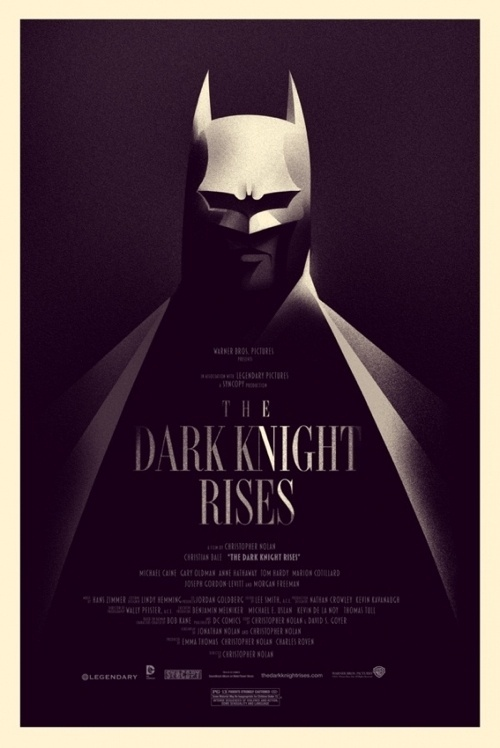 OMG Posters! #rises #knight #batman #poster #dark #olly #moss