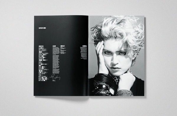 THEARTISTANDHISMODEL » Editorial #spread #layout #editorial #magazine