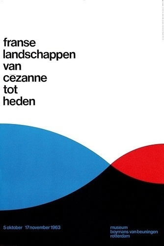 All sizes | franse landschappen van cezanne tot heden | Flickr - Photo Sharing! #international #typographic #grid #system #poster #style
