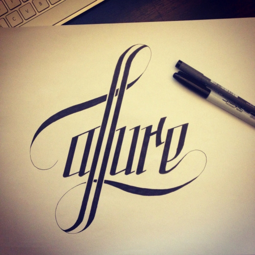 Typeverything.com #drawn #lettering #hand #typography