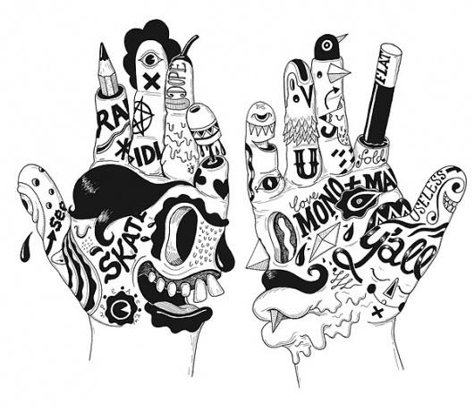 Ono Digitalis : uberkraaft #illustration