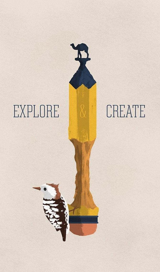 Eric Reigert – Explore & Create #inspiration #design #graphic