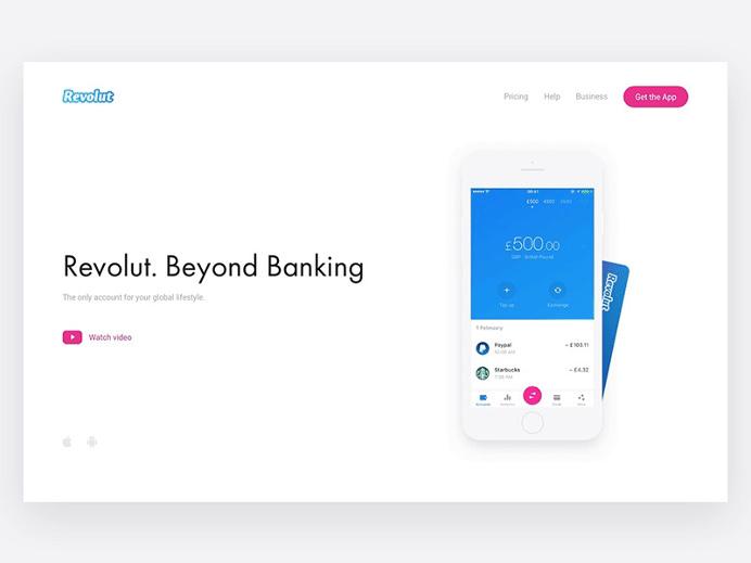 Homepage — Revolut Website