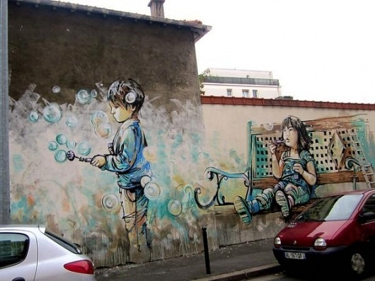 Street Art by Alice Pasquini | Cuded #pasquini #alice #art #street