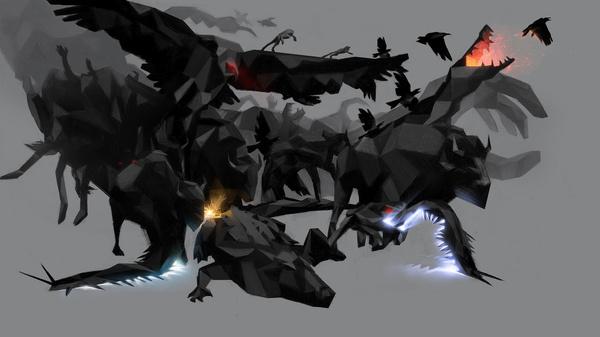 http://farm3.static.flickr.com/2486/5741503126_73eebb47ff_b.jpg #digital #illustration #art #animals