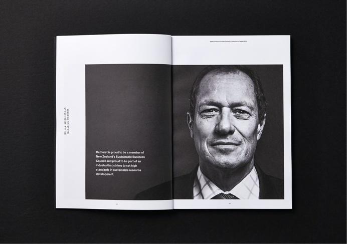 Saatchi & Saatchi Design Worldwide. Bathurst Annual Report #annual #report