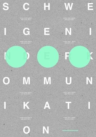 Kommunikation #design #graphic #poster #typography