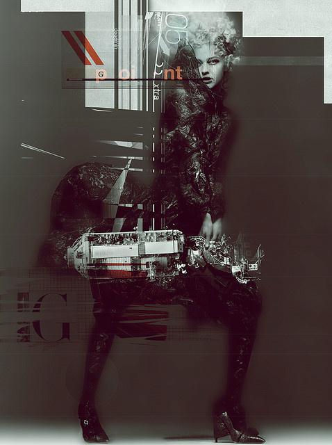 G·POINT◘ #illustration #poster #type #collage #buentypo #bto