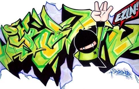 eyeone   seeking heaven #lettering #eyeone #graffiti #sketchbook #blackbook