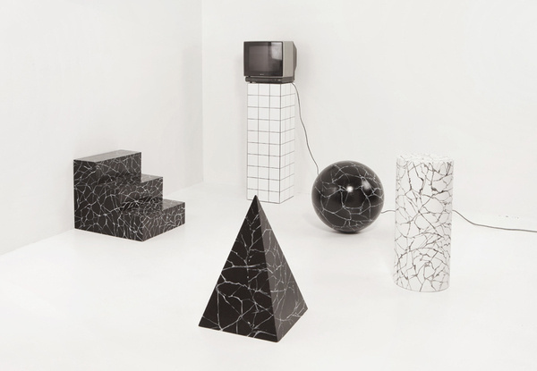 Ill Studio #forms #tv #pattern #marble