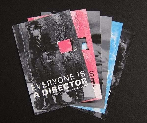 Museum of the Moving Image (Student Branding Project) on Branding Served #print #color #identity #branding