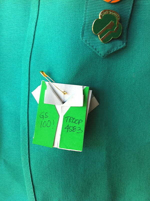 30+ Cool Girl Scout SWAPS Ideas #scout #girl #friend #gift #ideas