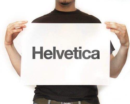 Beautiful Helvetica Inspired Artworks (Fanart, Posters, Wallpapers & Icons) #design #typographic #typeface #helvetica #style #typography