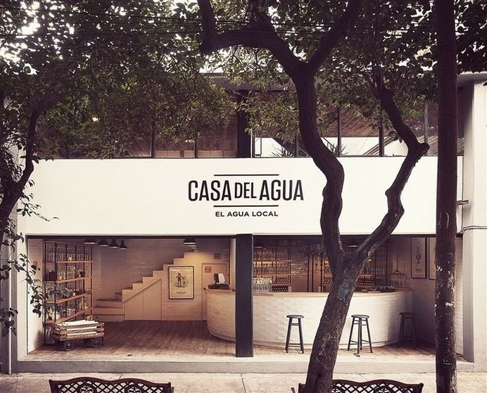 Casa Del Agua by TH INC #interior #mexico #city #commercial #architecture #vintage