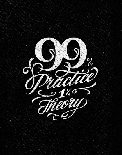 Dribbble - 99_full.jpg by Sergey Shapiro #lettering #quote #wisdom #custom #typography