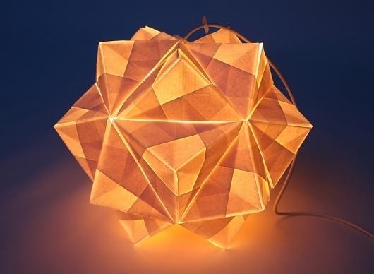 Kusudama light #lamp #ligth