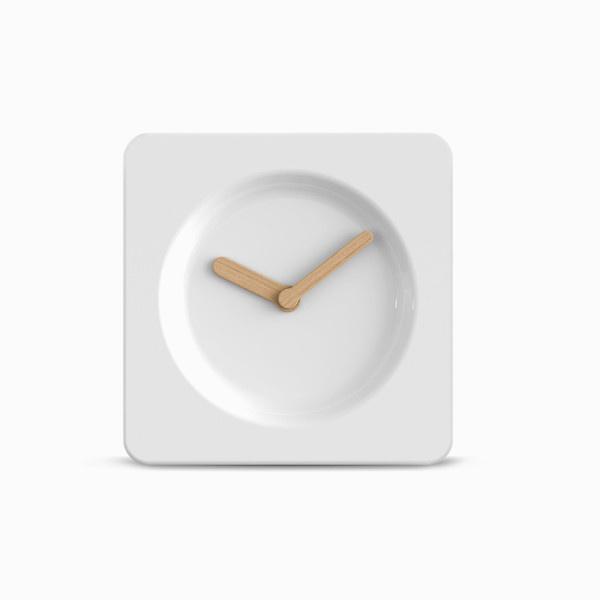 Ceramic White #clock