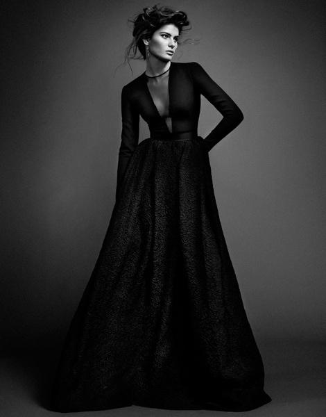 Isabeli Fontana by Sergi Pons for El Pais #model #girl #photography #fashion #bw #beauty
