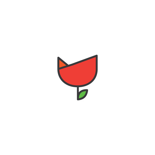 flower #vector #icon #fresh #design #graphic #colours #environment #smile #nature #flower #lotus #green