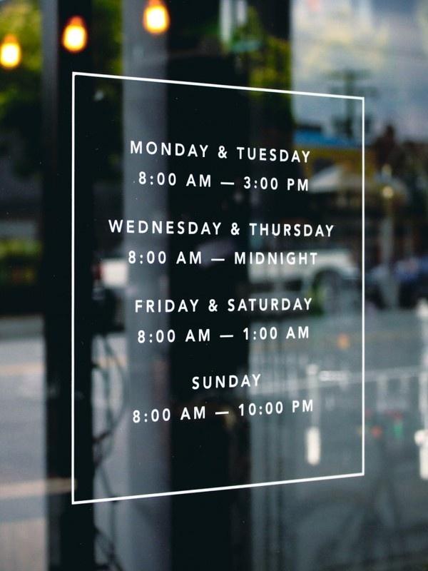 Tangent Café | Fivethousand Fingers #typography