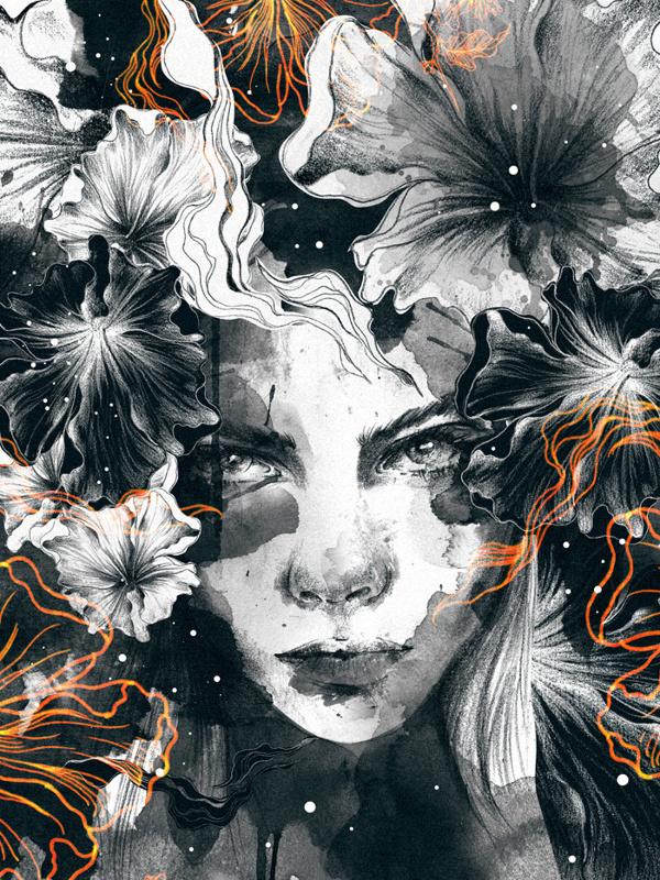 Illustration 2.13 on Behance #illustration #portrait #art