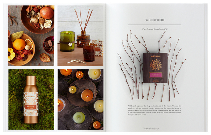 19.dieline_thymes_catalog.jpg #catalog #print #design #layout #editorial