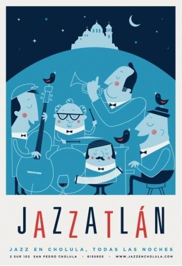 José Guízar #jazz #mexico #design #graphic