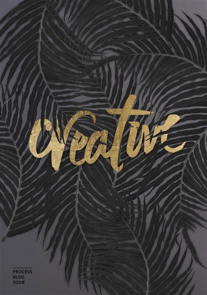 Cocorrina: CREATIVE PROCESS BLOG TOUR #script #gold