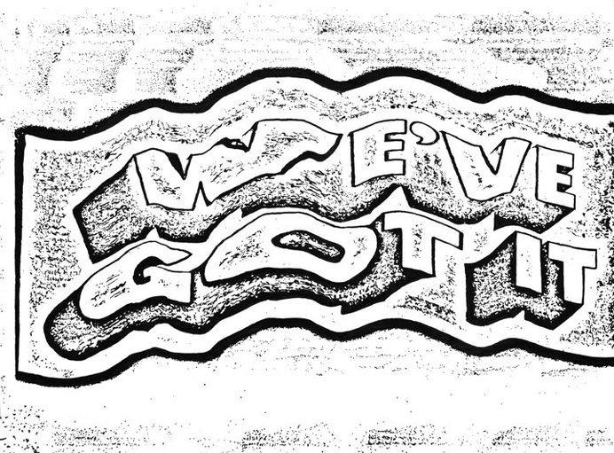 We've Got It, by Dan Bina #ink #ny #bina #drawing #dan #distortion #art #type #paper #brooklyn