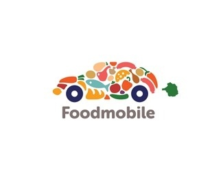Foodmobile by ru_ferret #cars #colorful #foodmobile #food