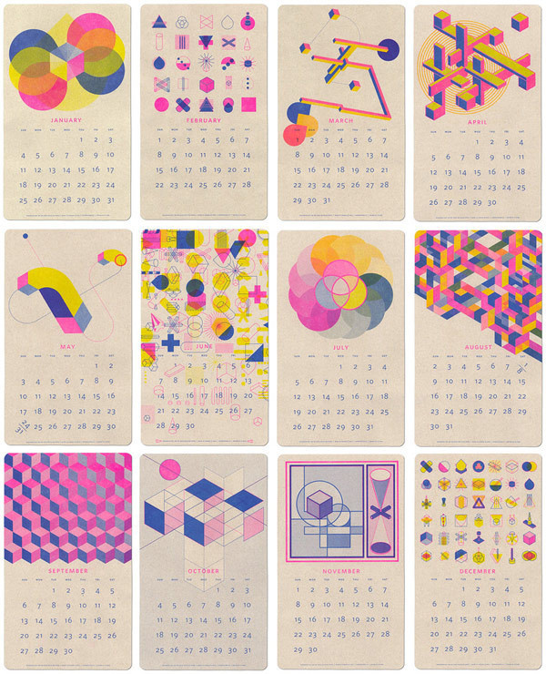 NoRabbitsNoHats. : Photo #calendar #geometry