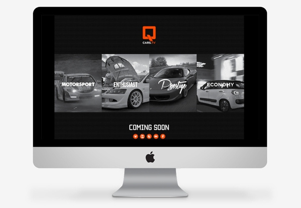 QCARS.TV Concept work on Behance #charts #branding #graphics #automotive #infographics #london #motorsport #imac #website #info #data #identity #film #logo #web