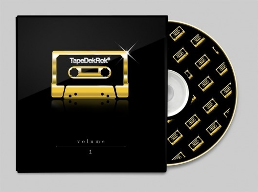 TapeDekRok® : welcom to La La Land #tape #80s #gold