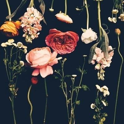 STREET ETIQUETTE #black #flowers