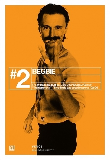 Creative Review - Trainspotting's film poster campaign, 15 years on #begbie #trainspotting #poster #film